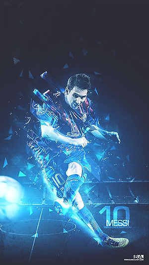Messi Freekick wallpaper