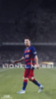Messi walking wallpaper