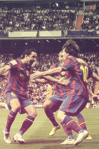 Barcelona clasico celebration wallpaper