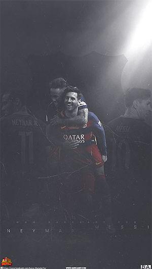 Messi Neymar Wallpaper