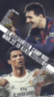 Messi vs Ronaldo statistics wallpaper