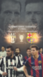 Barcelona vs Juventus champoions league final wallpaper