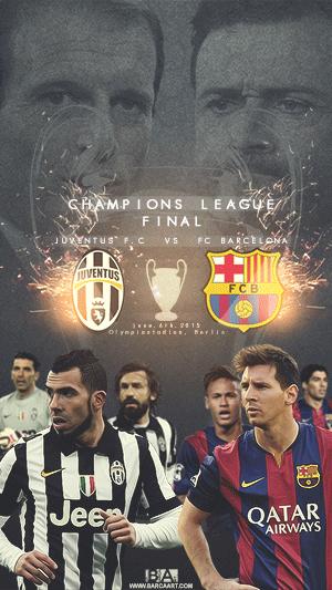 Barcelona vs Juventus champoions league final wallpaper