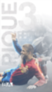 Pique celebrating clasico goal wallpaper
