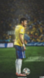 Neymar Brazil freekick wallpaper