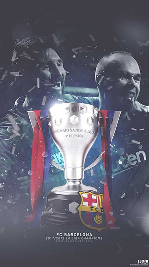 Barca 2018 champions