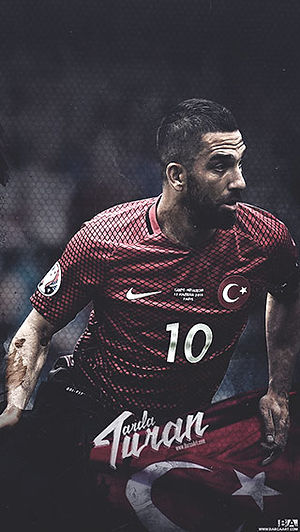 Arda Turan Turkey wallpaper