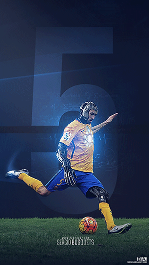 Busquets The Machine wallpaper