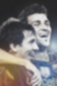 Messi and Villa wallpaper