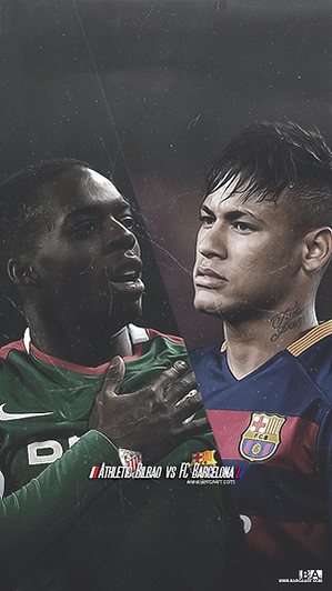 Barca Bilbao Neymar Williams wallpaper