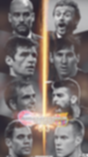 Barca vs Bayern Munich champions league wallpaper