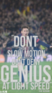 Ray Hudson Messi quote wallpaper