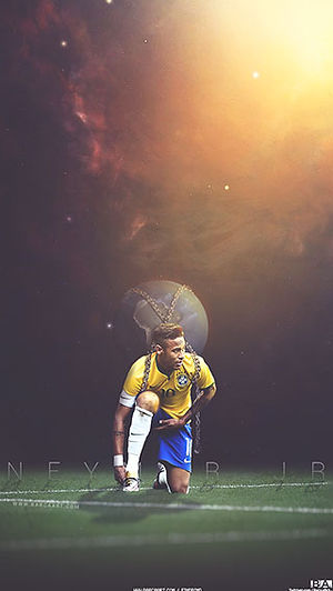 Neymar world wallpaper
