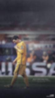 Messi Champions League exit wallpaper
