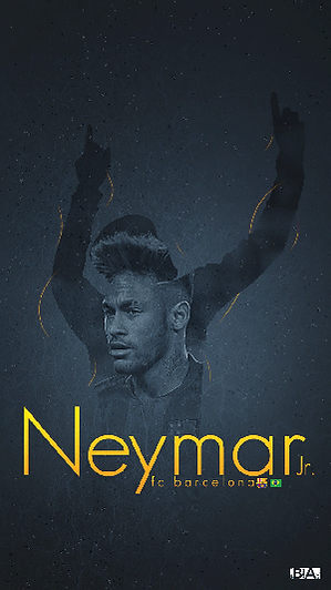 Neymar celebration pose wallpaper