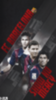 Messi Neymar Suarez Show no Mercy wallpaper