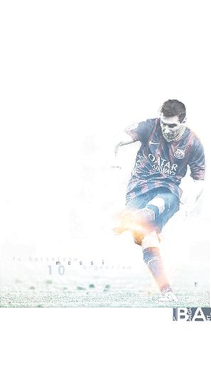 Messi shooting white wallpaper
