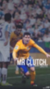 Messi Mr clutch celebrating goal wallpaper