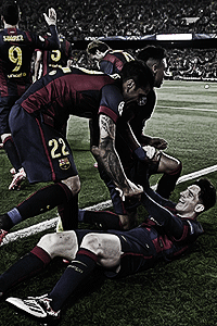 FC Barcelona team wallpapers