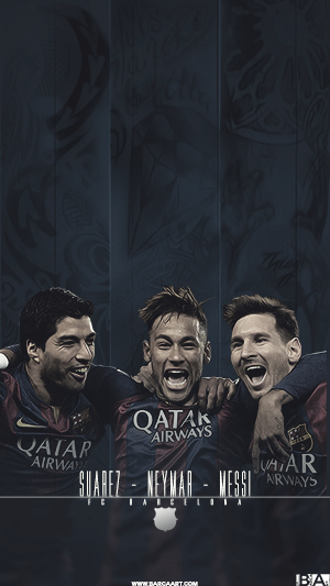 Messi Neymar Suarez tattoo wallpaper