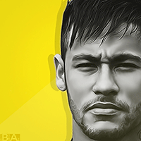 Neymar yellow avatar