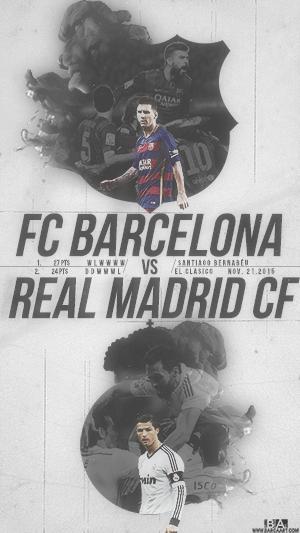 Barcelona vs Madrid clasico wallpaper