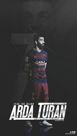 Arda Turan Barcelona kit wallpaper