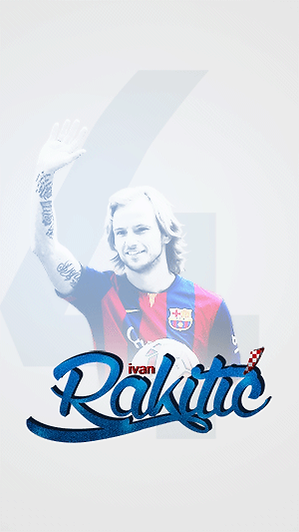 Rakitic Camp Nou presentation wallpaper