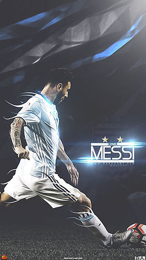 Messi Argentina freekick wallpaper