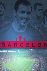 Barcelona attack wallpaper