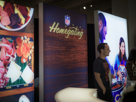 NFL 50th Anniversary Press Event