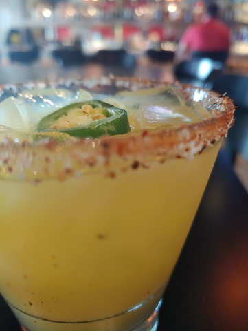 Spicy/Smokey Margarita