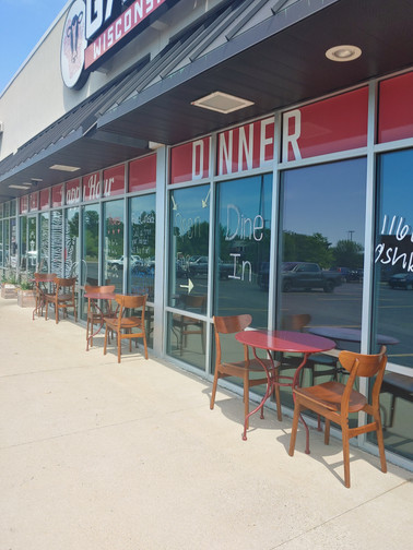 Outdoor Seating Available