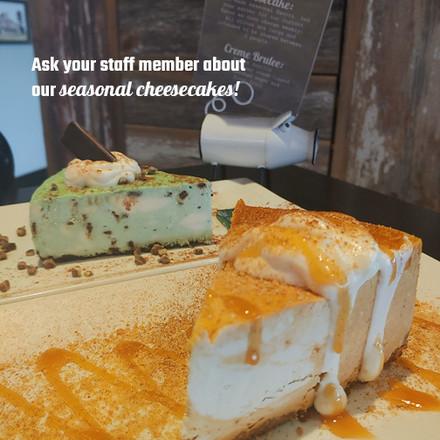 MJ's Homemade Cheesecakes!