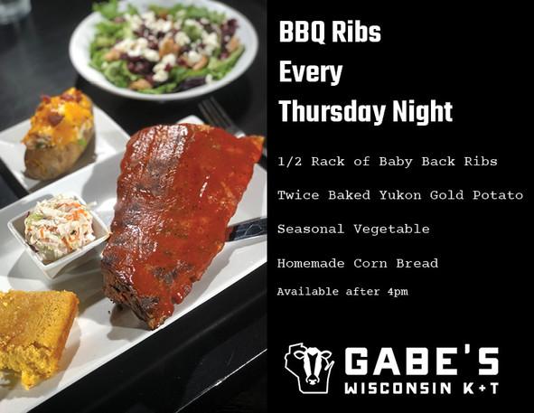 Thursday Nigh Rib Night