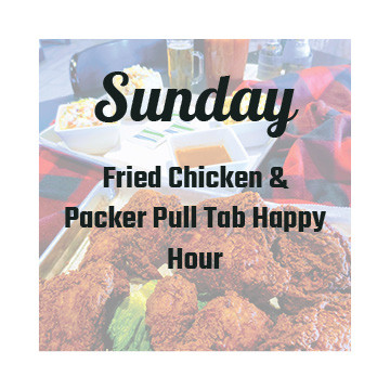 Sunday Chicken and Packer Specials