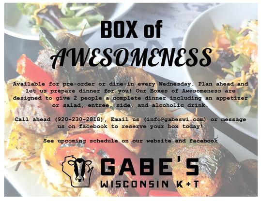 Wednesday Box of Awesomeness!