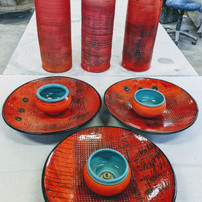 Red fountains in stock now