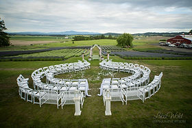 Ceremony Unique Seating Arrangement