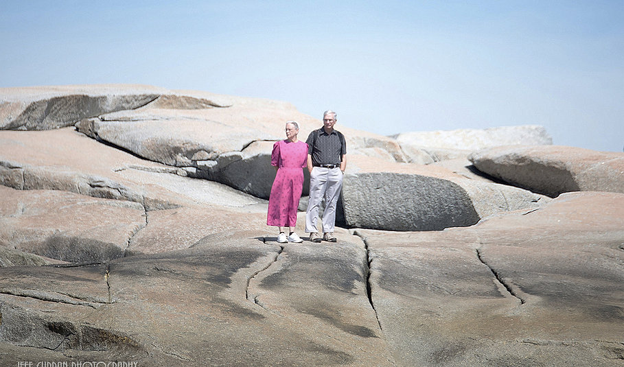 Tourists at Peggy's Cove.jpg