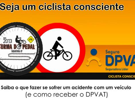 Seguro DPVAT também cobre acidentes com bicicletas