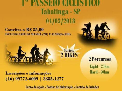1º Passeio Ciclistico de Tabatinga SP