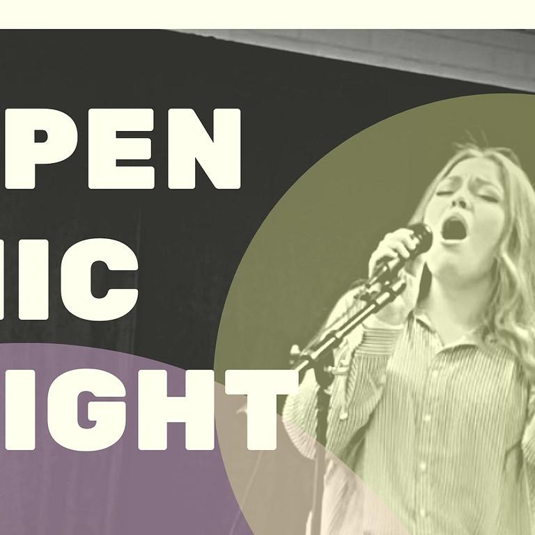 Summer Open Mic Night! (July 1st)