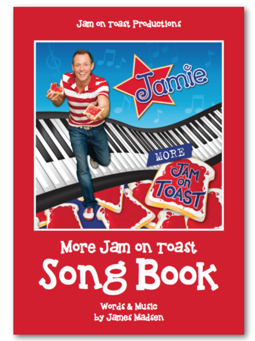 More Jam On Toast - Song Book