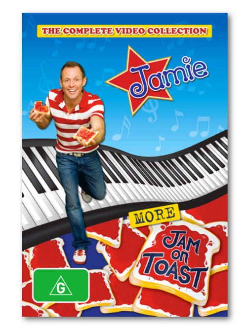 More Jam On Toast - DVD