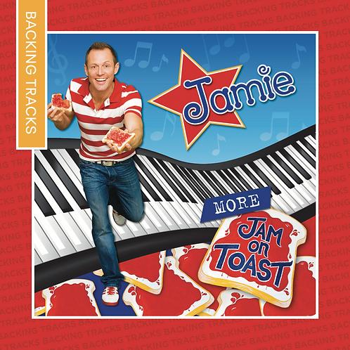 More Jam On Toast - Backing Tracks CD