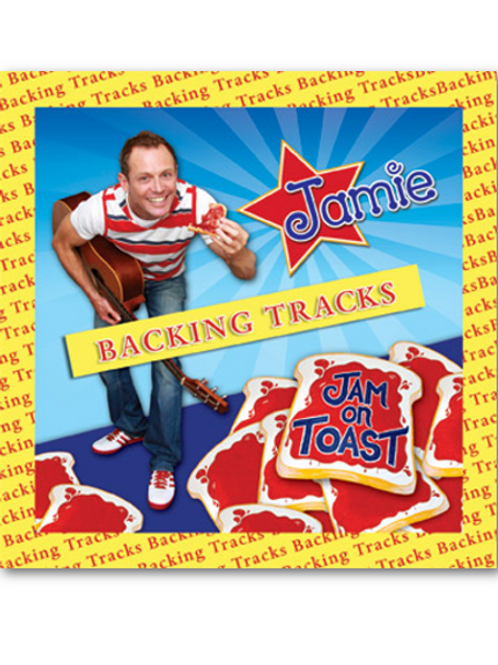Jam On Toast - Backing Tracks CD