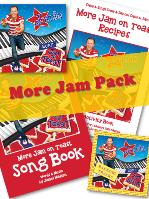 More Jam On Toast - Discount Pack