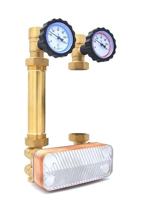 DN25 - 20kW - Ohne Pumpe