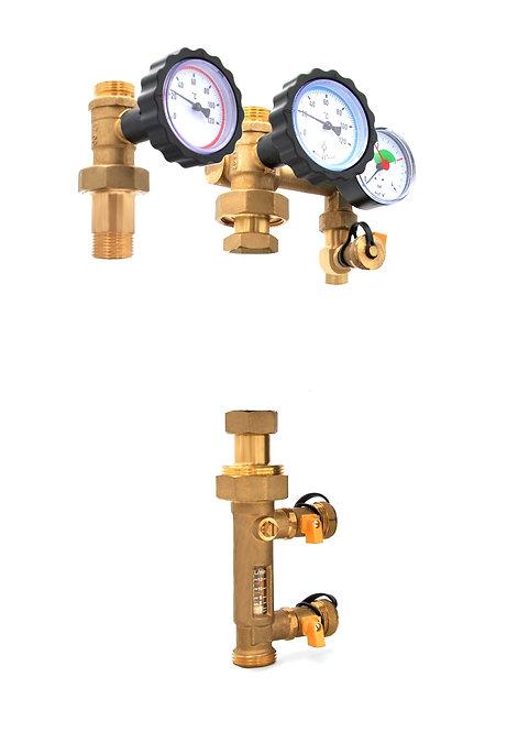 DN25 Solar - ohne Pumpe